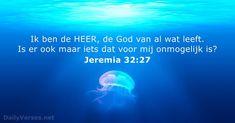 Jeremia 32:27 - dailyverses.net