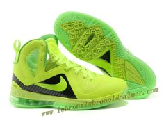 Nike LeBron 9 P.S. Elite Green Black Hot