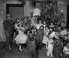 Mexican Embassy Christmas Party Washington D.C, 1925