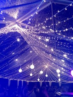 A perfect way to make sure your wedding is a starry night.