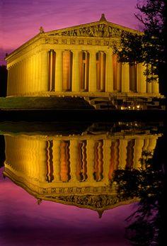 The Parthenon - Nashville, TN, our neighboring state.  Love visiting Nashville.