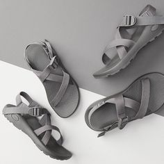 07778727477f New from Chaco: Limited-edition Monochrome Z/Sandals with herringbone  textural webbings.