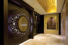 The Moroccan-inspired Miraj Hammam Spa by Caudalie Paris offers traditional and high-end spa treatments from its location at the Shangri-La Hotel. Toronto Hotels, Toronto City, Downtown Toronto, Shangri La Hotel, Lobbies, Event Venues, Indoor, Flooring, Photo And Video
