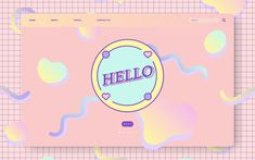 Pastel vectors, photos and psd files Web Design, Website Design, Layout Design, Flat Design, Graphic Design Posters, Graphic Design Inspiration, Thumbnail Youtube, Cute Website, Pastel Designs