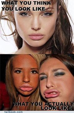 funny expectations vs reality duckface