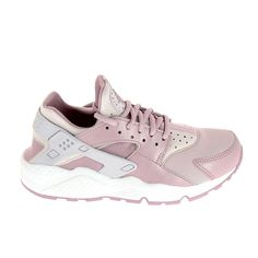 new arrival e47ba e929c NIKE Air Huarache Run Rose Blanc. Nike Chaussures ...