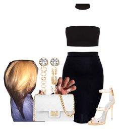 """""""Untitled #1371"""" by melaninprincess-16 ❤ liked on Polyvore featuring JUST DON, Design Inverso, Giuseppe Zanotti, Forever 21 and Palm Beach Jewelry"""