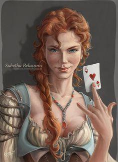 Sabetha Belacoros by KejaBlank.deviantart.com on @DeviantArt