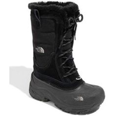 The North Face 'Shellista' Boot (Toddler, Little Kid & Big Kid) Black/ Foil Grey 1 M - product - Product Review