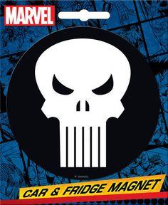 Punisher Car Magnet
