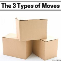 Did you know that there are three types of moves? There's DIY move, the full-service move,  and the hybrid move. Check out the Rent.com blog to learn more and get some helpful moving tips!