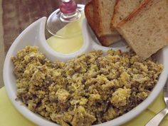 La buona cucina di Katty: Antipasto rustico di durelli e fegati di pollo