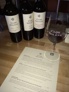Clos Solene. One of the best boutique wineries in Paso Robles, CA. Beautiful Rhone blends.