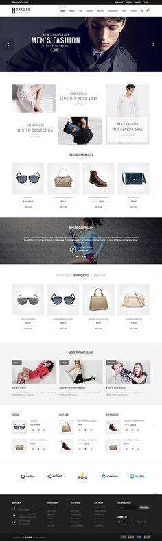Noraure – WooCommerce Responsive WordPress Theme