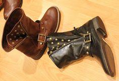 Calzados NIZA y ZAS Shoes: BOTITAS PLANAS, MOTERAS, TACHAS, GLITTER... ¡para volverse loca!