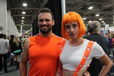 Dallas and LeeLoo from Fifth Element | SLCC 2013