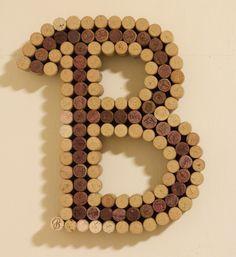 "Letter ""B"" Corkreation"