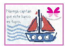 barco bordado