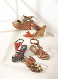 Trending Now: Orange Sandals via @Nordstrom #MayCatalog