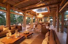 Lounge, Kapama Karula © Kapama Private Game Reserve. Um safari fotografico que Patty e eu fizemos na Africa do Sul.