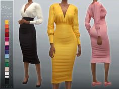 Sims 4 Body Mods, Sims 4 Game Mods, Sims 4 Mods Clothes, Sims 4 Clothing, Female Clothing, Custom Clothing, Clothing Sets, Sims 4 Tsr, Sims Cc