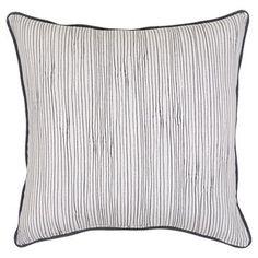 """18"""" Throw Pillow - Black & White Micro Stripe - Threshold™ already viewed"""