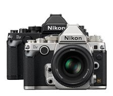 Câmera D-SLR Nikon Df | Estilo Nikon SLR Clássico, Recursos Modernos Digitais SLR Internos