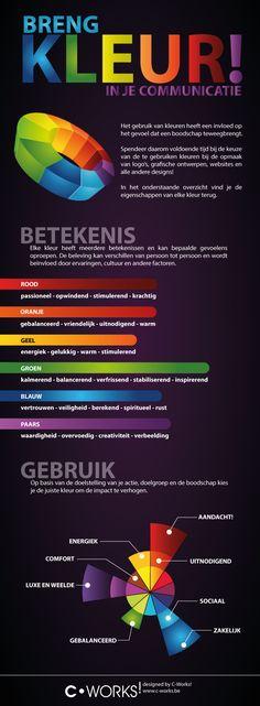 Breng kleur in je communicatie | C-Works!