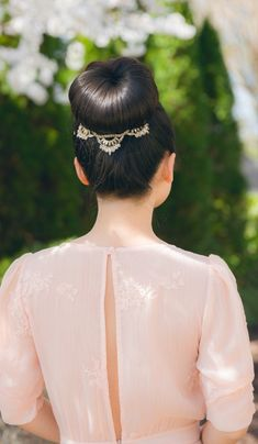 #Jeweled #bun