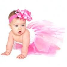 I would so put my baby in cute tutus!