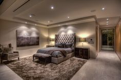 Executive Bedroom From Interior Illusions - Taken at our Swallow Street project.