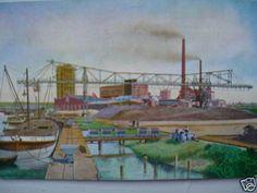 4808 AK Krananlage Zellstoff Fabrik Königsberg 1913 PC