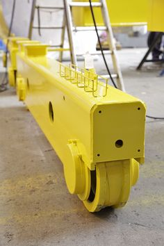Crane with trolley transfer features for Airbus Military   GH Cranes & Components