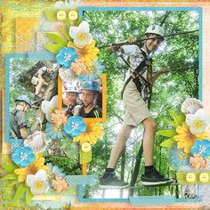 Layout using {Sign OF Summer} Digital Scrapbook Kit by Eudora Designs available at PBP https://www.pickleberrypop.com/shop/manufacturers.php?manufacturerid=173