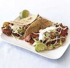 Grilled Steak Tacos with Spicy Slaw #summer #recipe #cooking #food #yum