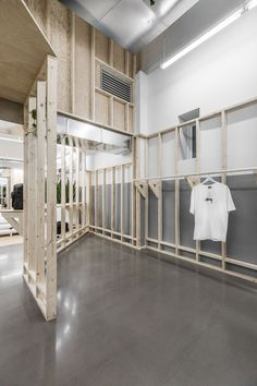 Stussy's New Store Revisits Toronto's Streetwear Legacy Retail Interior, Interior And Exterior, Interior Design, Interior Shop, Interior Paint, Commercial Design, Commercial Interiors, Surf Store, Lifestyle Store