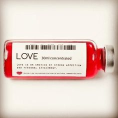 Love concentrated  take care of yourself with love