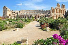 El Anfiteatro de El Djem, Dougga, Cartago, Kerkoune y el Museo del Bardo: Cinco visitas imprescindibles en Tunez para amantes de la Historia y la Arqueologia.