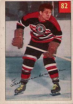 f4cd22abb MT  Nancy Jachcik Nedeljak  FN hockey fact  Fred Sasakamoose made his  historic NHL