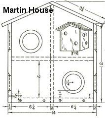 Plans for a Purple Martin House garden Pinterest Home