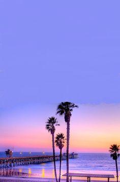 Sunset In Santa Monica, CA