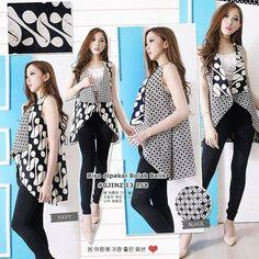 Fashion Model Black Casual 17 Ideas For 2019 Model Dress Batik, Batik Dress, Batik Fashion, Boho Fashion, Trendy Fashion, Outer Batik, Batik Kebaya, Fashion Design Template, Blouse Batik