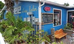 Lelu Coffee in Siesta Key Village. Great spot for coffee, tea or martinis (love the Cuban coffee)