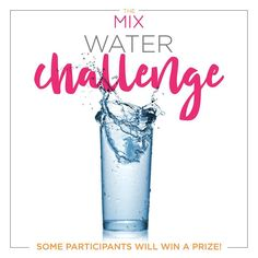 Did you know that our body is composed of more than half water by weight? Water is part of every tissue, organ and cell. Many chemical reactions involved in metabolism, respiration and digestion require water. I don't know about you, but those all sound pretty important to me! I am starting a water challenge and I invite you to take the #waterchallenge with me! I am going to start out small with only 16oz a day this week. If you are not already a water drinker this may sound like a lot and…