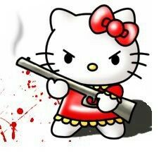 Image result for evil hello kitty
