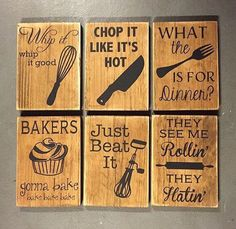 Cute vinyl project for kitchen