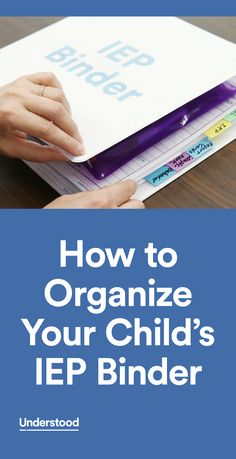 Making an IEP binder is a great way to keep information organized and at the ready when you need it. An IEP binder can help you prepare for IEP meetings and stay up to date on your child's progress.