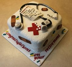 Nurse cake by Angels Cupcakes, via Flickr - For Ayshton when she graduates!!!!!!