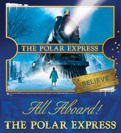 the magical polar express train ride in florida everyone should rh pinterest com Polar Express Coloring Pages Polar Express Train