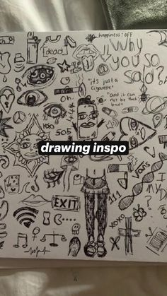Arte Grunge, Grunge Art, Indie Drawings, Cool Art Drawings, Pretty Art, Cute Art, Art Inspiration Drawing, Drawing Ideas, Art Inspo